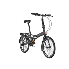 Ortler London Two vouwfiets, zwart